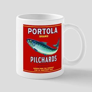 Portola Sardine Label 2 Mug