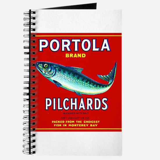 Portola Sardine Label 2 Journal