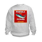 Portola Sardine Label 2 Kids Sweatshirt
