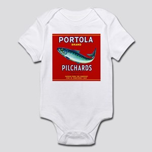 Portola Sardine Label 2 Infant Bodysuit