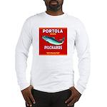 Portola Sardine Label 2 Long Sleeve T-Shirt
