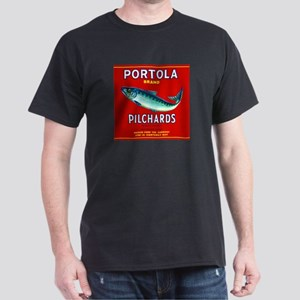 Portola Sardine Label 2 Dark T-Shirt