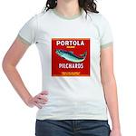 Portola Sardine Label 2 Jr. Ringer T-Shirt