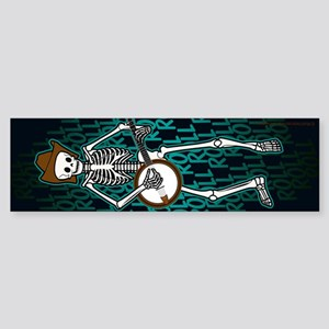 Banjo Skeleton (d) Bumper Sticker