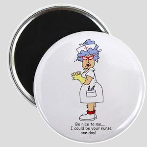 Be Nice Nurse Magnet