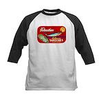 Sebastian Sardine Label Kids Baseball Jersey