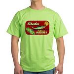 Sebastian Sardine Label Green T-Shirt