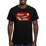 Sebastian Sardine Label Men's Fitted T-Shirt (dark