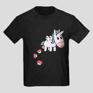 Unicorn Sweets Kids Dark T-Shirt