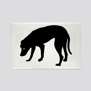 Blackmouth Cur Rectangle Magnet