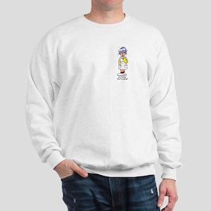 Nurse No Joking Sweatshirt