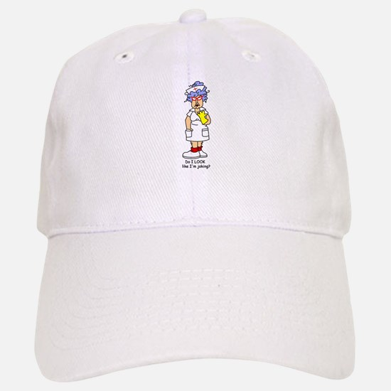 Nurse No Joking Baseball Baseball Cap