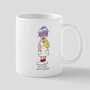 Nurse No Joking Mug