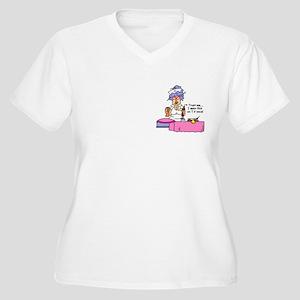 Nurse Trust Me Women's Plus Size V-Neck T-Shirt