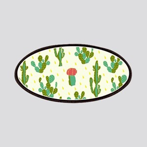 Cactus Pattern Patch