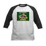 La Sirena Mermaid Sardine Lab Kids Baseball Jersey