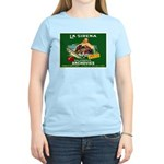 La Sirena Mermaid Sardine Lab Women's Light T-Shir