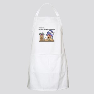 Nurse on Vacation BBQ Apron