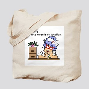 Nurse on Vacation Tote Bag