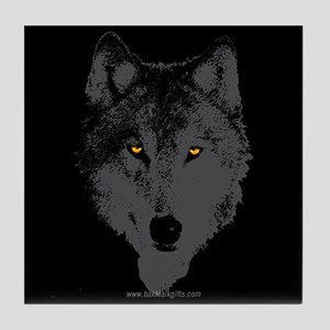 The Wolf... Tile Coaster