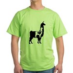 Llama Llama Duck Green T-Shirt