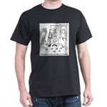 Fish Cartoon 4843 Dark T-Shirt