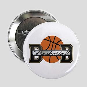 "Basketball Dad 2.25"" Button"