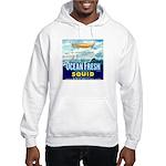 Vintage Squid Label 1 Hooded Sweatshirt