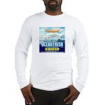 Vintage Squid Label 1 Long Sleeve T-Shirt