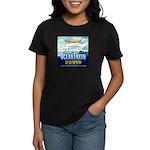 Vintage Squid Label 1 Women's Dark T-Shirt