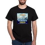 Vintage Squid Label 1 Dark T-Shirt