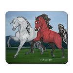 Arabian & Andalusian Horses Mousepad