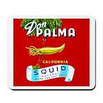 Squid Label 2 Mousepad