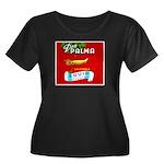 Squid Label 2 Women's Plus Size Scoop Neck Dark T-