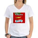 Squid Label 2 Women's V-Neck T-Shirt