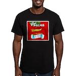 Squid Label 2 Men's Fitted T-Shirt (dark)