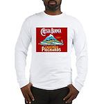 Crest Blanca Sardine Label Long Sleeve T-Shirt