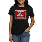 Crest Blanca Sardine Label Women's Dark T-Shirt