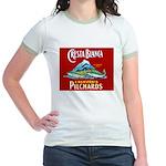 Crest Blanca Sardine Label Jr. Ringer T-Shirt