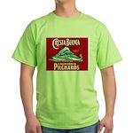 Crest Blanca Sardine Label Green T-Shirt