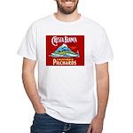Crest Blanca Sardine Label White T-Shirt