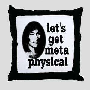 John Donne Throw Pillow