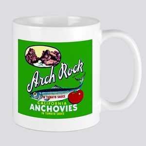 Arch Rock Sardine Label Mug