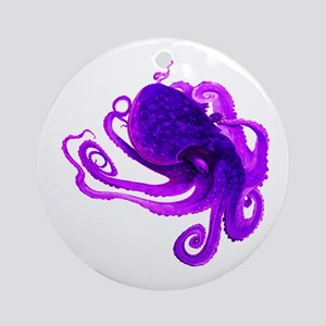 TENTACLES Round Ornament