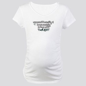 In Love with Twilight Maternity T-Shirt