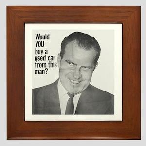 Nixon Used Car Framed Tile