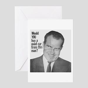 Nixon Used Car Greeting Card