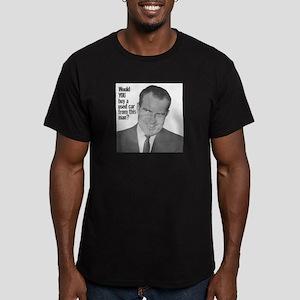 Nixon Used Car Men's Fitted T-Shirt (dark)