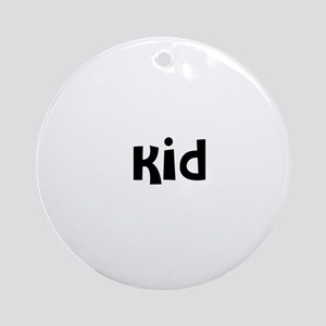 Kid Ornament (Round)