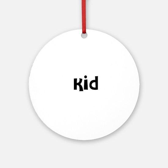 Kid Ornament (Round)